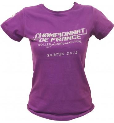 Tee shirt Championnat France Groupe