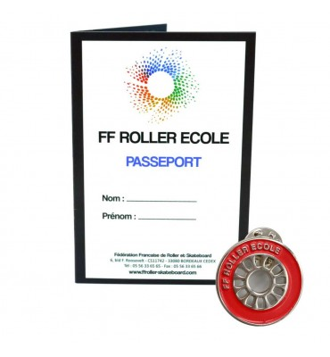 Pack - Roue Roller Ecole Rouge