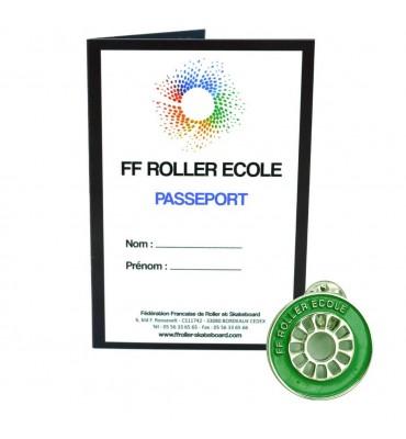Pack - Roue Roller Ecole Vert