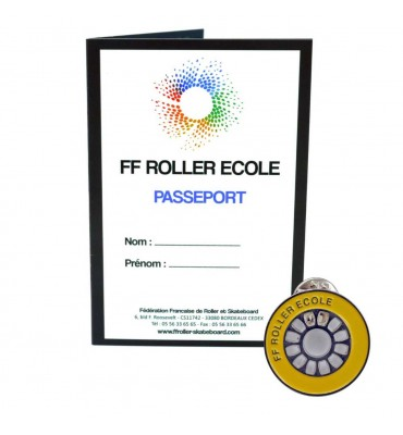 Pack - Roue Roller Ecole Jaune
