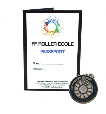 Pack - Roue Roller Ecole Noir